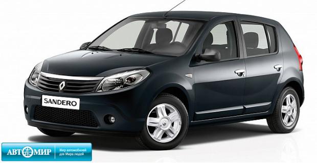 Новое предложение на Renault Sandero: «Счастливый июнь!»