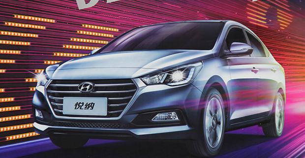 В сеть попали первые снимки нового Hyundai Solaris