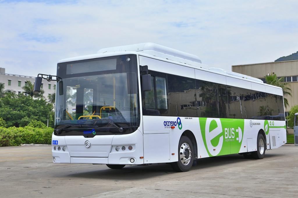 Новый электробус Golden Dragon XML6125CLE — мечта, ставшая реальностью