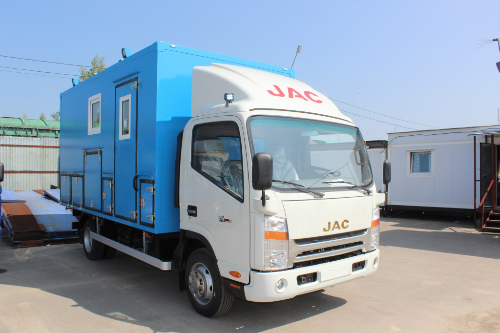 JAC расширяет ассортимент продукции в России