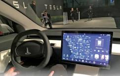 Tesla 3 изнутри
