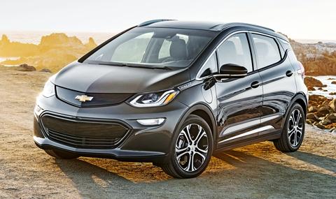 Chevrolet Bolt — автомобиль года