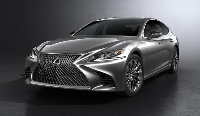 Lexus — явление нового флагмана